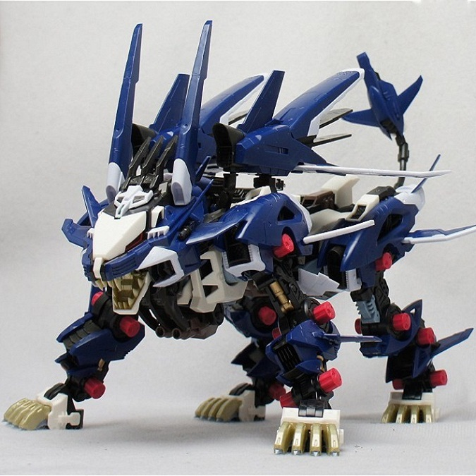 BT Model Building Kits: ZOIDS RZ-041 Liger ZERO Jager 1:72 Scale Full Action Plastic Kit Assemble Model Birthday Christmas Gifts