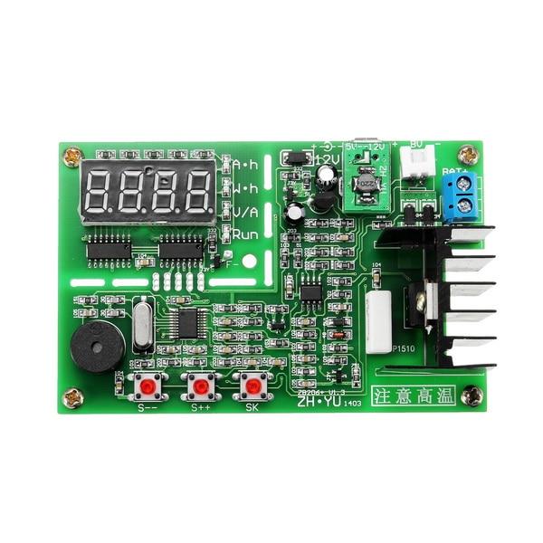 12V ZB206+V1 3 battery capacity tester resistance test 18650 mobile