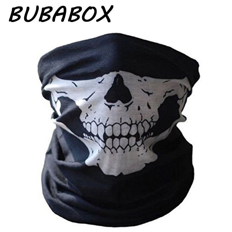 BUBABOX Mask Scarves Face Headband Skull Neck Bandanas