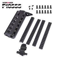 WORKER F10555 3D Printing G56 Front Tube Kit For Nerf Black