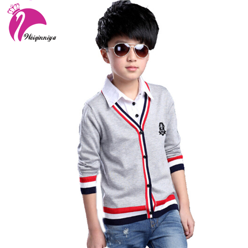 Baby Boys Sweaters Kntting Cardigan Casual Boys 2017 spring&Autumn Children's Sweater Winter Kids Boys Clothing Vest