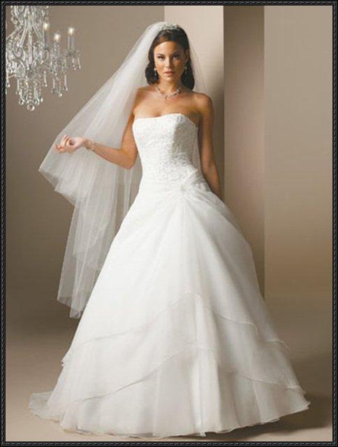 1pcs tube top lovely white noble vogue embroidery beaded wedding dress Party clothing wedding dresses soiree clothing