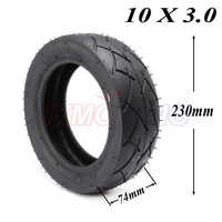 10x3.0 10*3.0 tubeless vacuum tire Tyre For 10 inch E-Scooter Motor Scooter Go karts ATV Quad Dualtron Speedway 10x3.00 tire