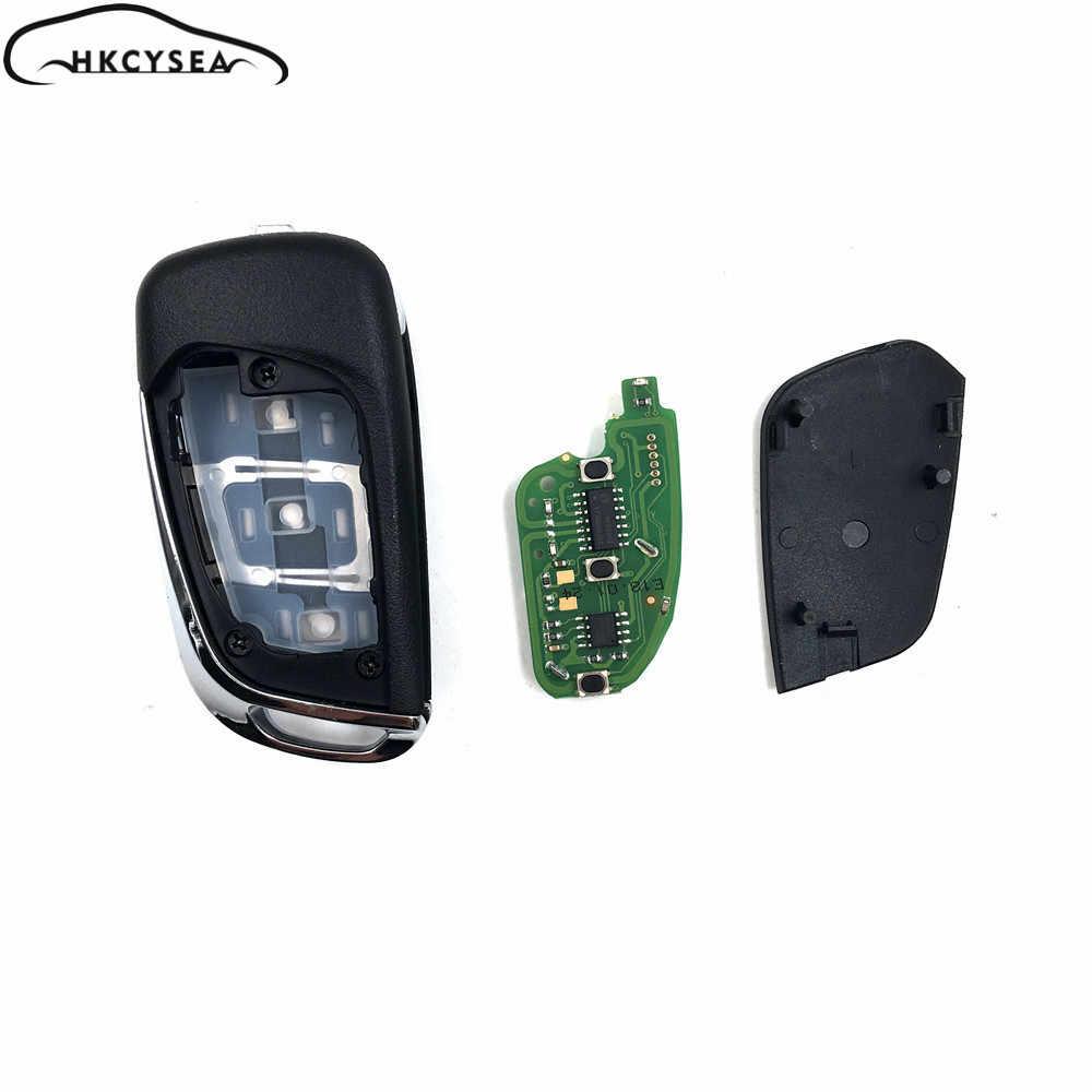 HKCYSEA 10 ピース/ロット Xhorse VVDI2 英語版ワイヤレスユニバーサルリモコンキー 3 ボタン DS スタイル VVDI ミニキーツール