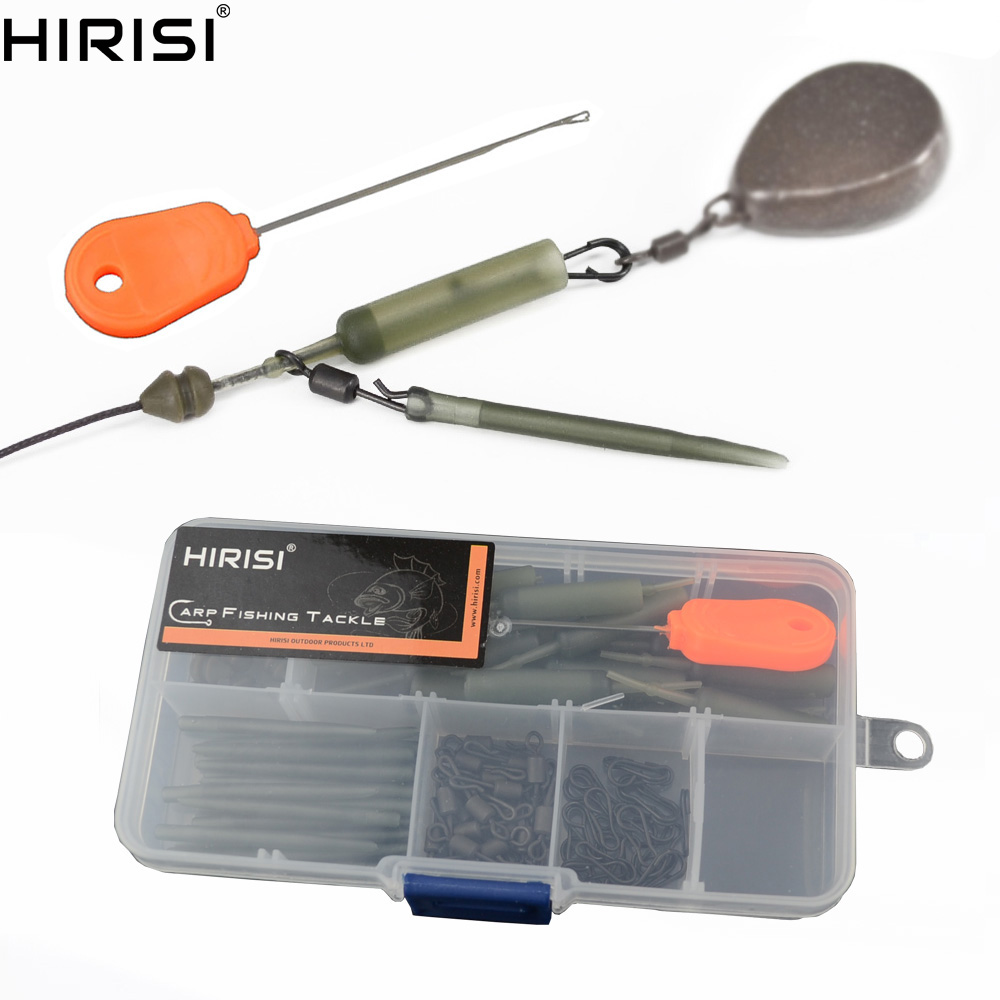 Carp Fishing Safety Lead Clips With Bait Needle Fishing Swivel And Snap Terminal Tackle Carp Fishing Accessories