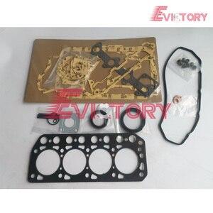 Kit de joints de moteur | Pour Mitsubishi K4F compelete + joint de culasse