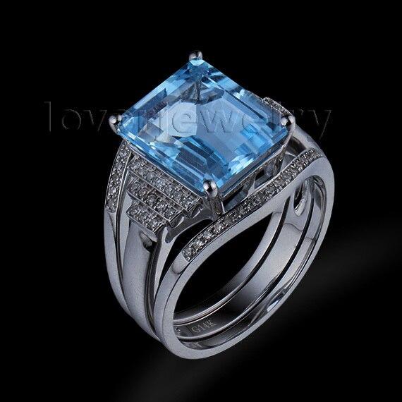 emerald cut wedding band - Emerald Cut Wedding Ring