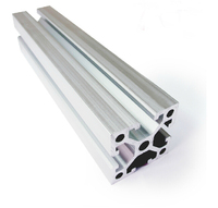 4040 90 Degree Aluminum Profile Extrusion 40 Series Heavy Aluminum Tube Length 1 Meter