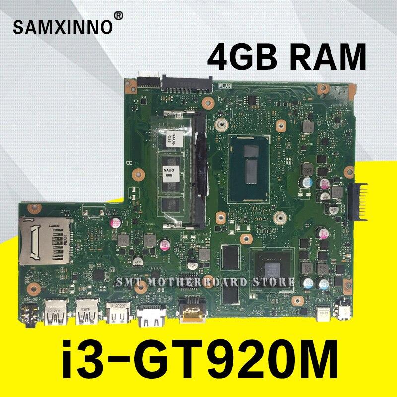 X540LJ 4 GB/I3 4005U/Комо 4 Гб Оперативная память GT920M 90NB0B10 R00040 материнской Para Asus X540L X540LJ F540L Материнская плата ноутбука