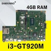 X540LJ 4GB/I3 4005U/COMO 4 gb RAM GT920M 90NB0B10 R00040 motherboard Para Asus X540L X540LJ F540L Laptop motherboard mainboard