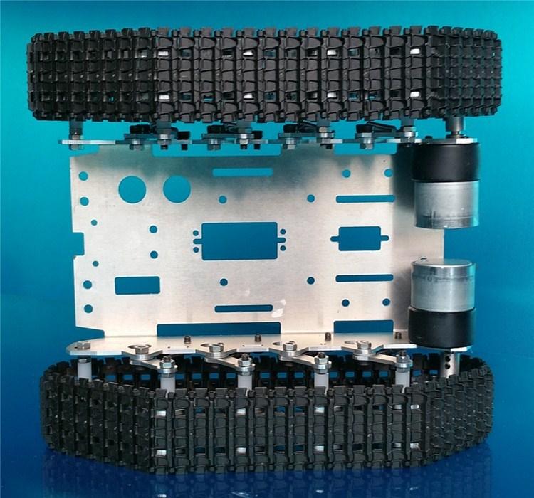Smart Arduino Tank Track Suspension System System Alumini Alloy Tank - Lodra me telekomandë - Foto 4