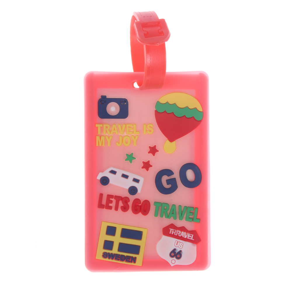 1PC Fashion Luggage Tags Name Address ID Holder Suitcase Baggage Lable Travel Tag Accessories For Men Women