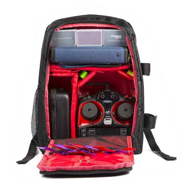 Traverser Drone sac à dos avec SoloGood sac à dos cintre attache FPV course Drone quadrirotor sac de transport en plein air Portable