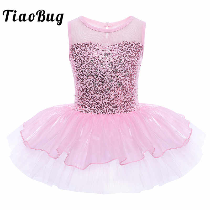 1f7810afa Detail Feedback Questions about Feeshow Kids Girls Sequined Tutu ...
