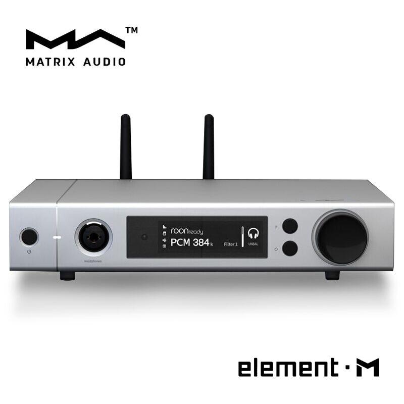 Élément matriciel M ES9028Pro MQA Audio DAC 768 kHz 22.4 MHz HiFi lecteur de musique sans perte décodeur de bureau