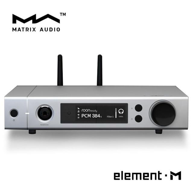 US $1799 0 |Matrix element M ES9028Pro MQA Audio DAC 768kHz 22 4MHz HiFi  Lossless Music Player Desktop Decoder-in Digital-to-Analog Converter from