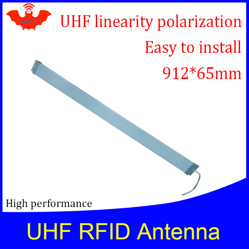 UHF RFID  Strip Thin Antenna VA906 915MHZ Middle Range 920-925M Self-service Library Access Door Embedded Rfid Reader Antenna