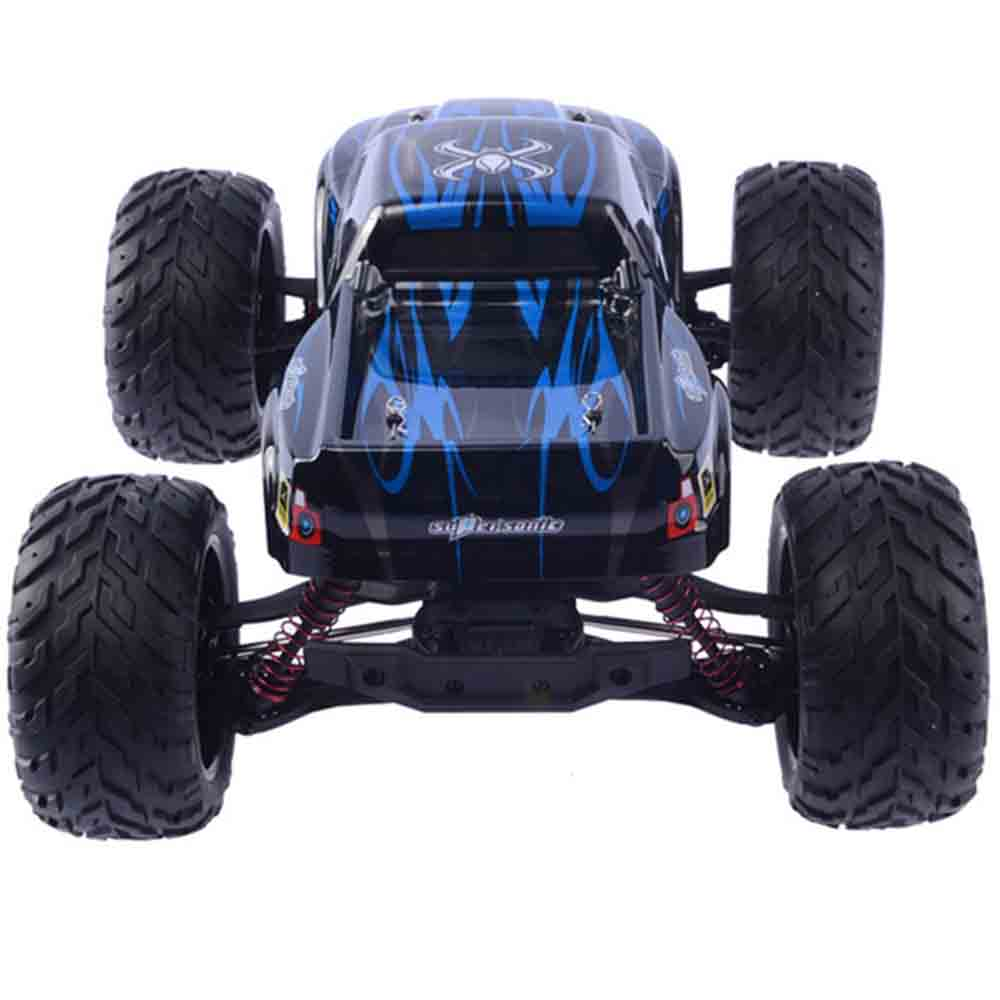 9115 2.4G 4CH RC Car Toys With 2-Wheel Driven Electric Race Car Remote Control Toys RC Big Truck Climbing Cars Gift For Kids 2pcs set big remote control car rc excavator detachable kids electric big rc car trailer remote control wireless truck car toy