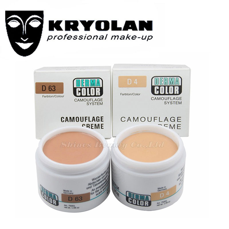 Kryolan German Professional Brand Dermacolor Camouflage Creme 30g Highly Pigmented Makeup Cover
