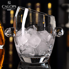 Carol poem high-end fashion creative party ice wine spirits beer cup bucket lead crystal glass