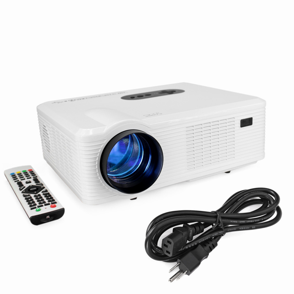 Original excelvan cl720 led projector 3000 lumens 1280 x for Projector tv reviews