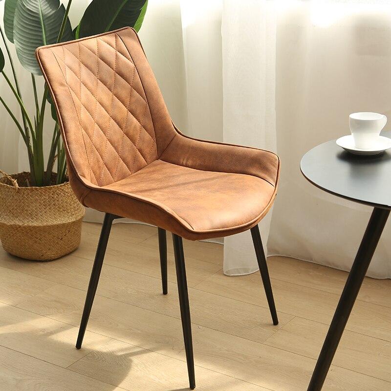 Chaud nordique chaises en bois massif salle à manger moderne minimaliste européen meubles de maison Design chaise - 5