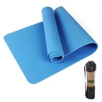 8MM TPE Yoga Mat 183X61cm Tasteless Non Slip Carpet Mat High Density For Beginner Yoga Pilates Fitness Gymnastics Balance