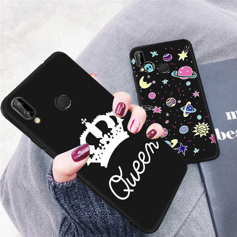 Uzay gökyüzü telefon kılıfı için Huawei onur 8 Lite 9i P20 Lite Mate 10 20 X Pro P10 P8 P9 lite Nova 2i 3i 3 P akıllı artı Y5 Y7 Y6 2018