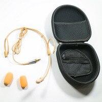 Frete Grátis Fone de Ouvido Microfone com Cardióide Diretividade Para Sennheiser EW100 EW300 EW500 G1 G2 G3 Saramonic Microfone