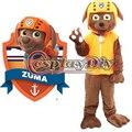 Wholesale Patrol Dog Mascot Cartoon Patrol Zuma Mascot Costume Custom Made