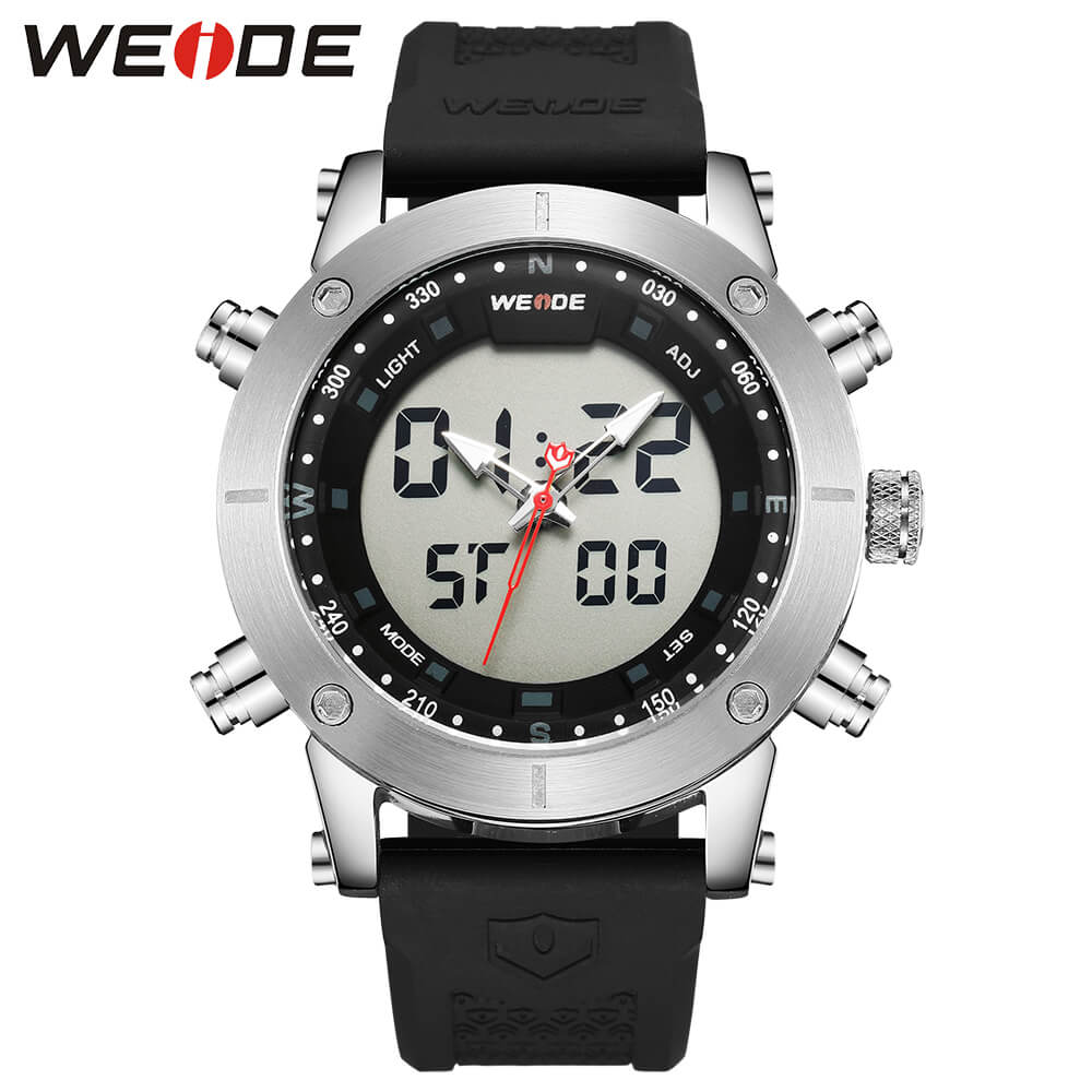 WEIDE luxury LCD digital Sport fitness watch alarm clock Silicone Water Resistant best selling 2018 product s electronic watchesWEIDE luxury LCD digital Sport fitness watch alarm clock Silicone Water Resistant best selling 2018 product s electronic watches
