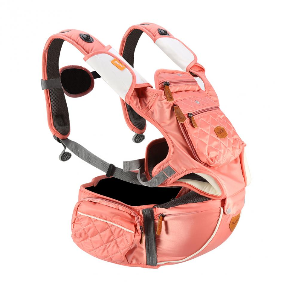 Mambobaby Baby Carrier Hipset Sling Adjustable Infant Ergonomic Baby Carrier Hip Seat Breathable Wrap Front Backpack ergo baby carrier performance