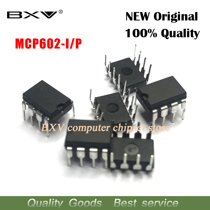 10pcs/lot MCP602-I/P MCP602 DIP8