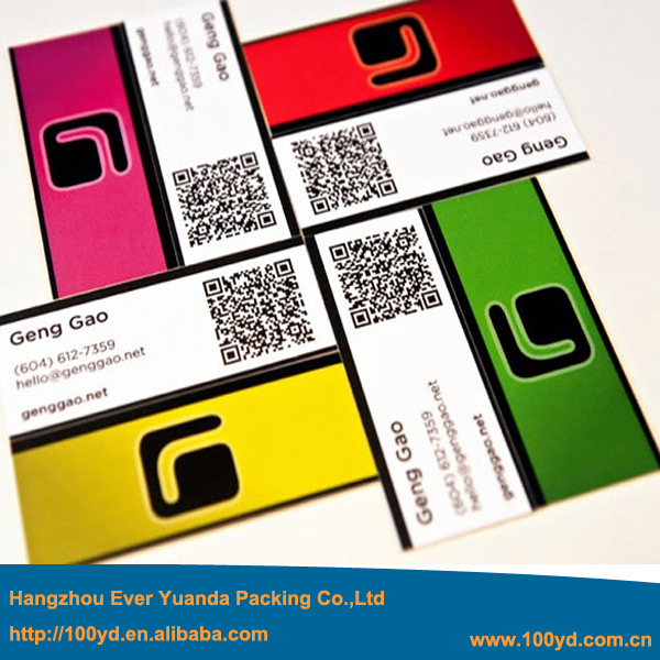 Best price two dimension code custom business cards logo colorful best price two dimension code custom business cards logo colorful print 350gsm art paper tarjetas colourmoves Image collections