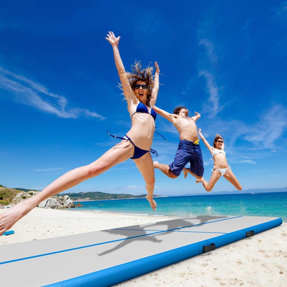 19.7ft gonflable 6 m Air Track 20 cmProfessional Tumbling Mat pour gymnastique Airtrack tapis de sol avec pompe à Air électrique gratuite