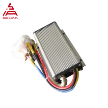 QSKBS7201X, 110A, 24-72 V, мини Бесщеточный контроллер постоянного тока для Электродвигатель в колесной ступице