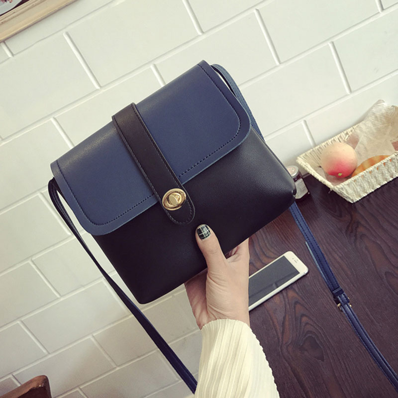 HCH-Mini Casual Small Messenger Bags New Women Handbag with Mortise Lock Clutch Ladies P ...