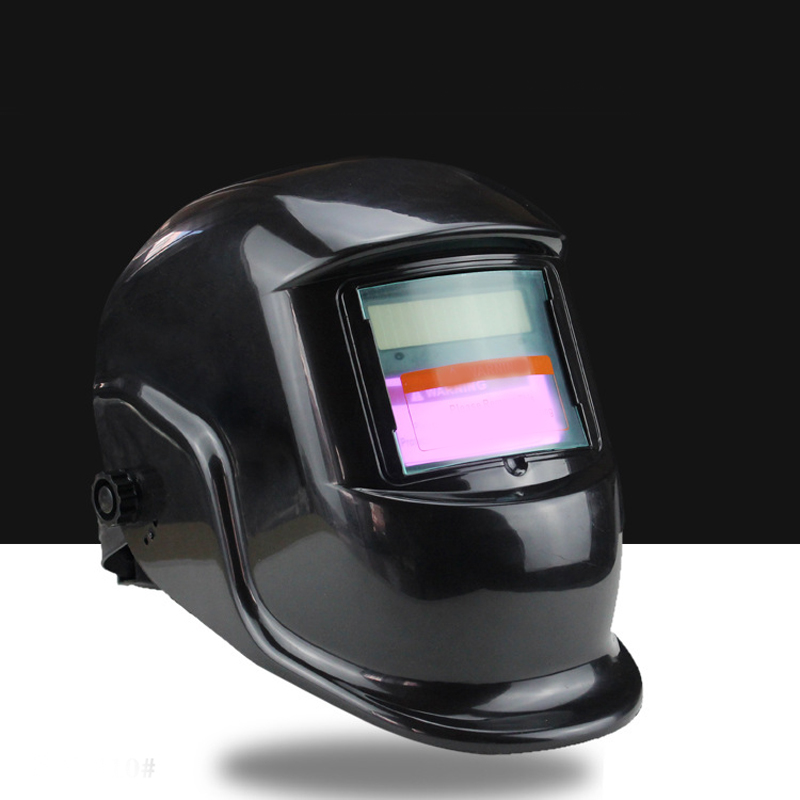 new Headset labor safety protection solar energy automatic variable light welding mask international labor migration