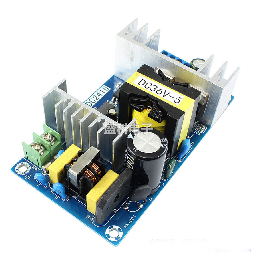 1 stück 180 watt High Power Transformator Schalt Netzteil Modul Bord AC100V-240V 50-60 hz Zu DC36V 5A