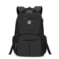 MARCELLO Laptop Backpack Men Travel Bags 2017 USB Charging Multifunction Rucksack Black School Backpacks For Teenagers
