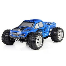 WLtoys 4WD Carros Control Remoto High Speed 1/18 RC Buggy Car MAX 70KM/h Monster Big Foot Off-road Vehicle цена