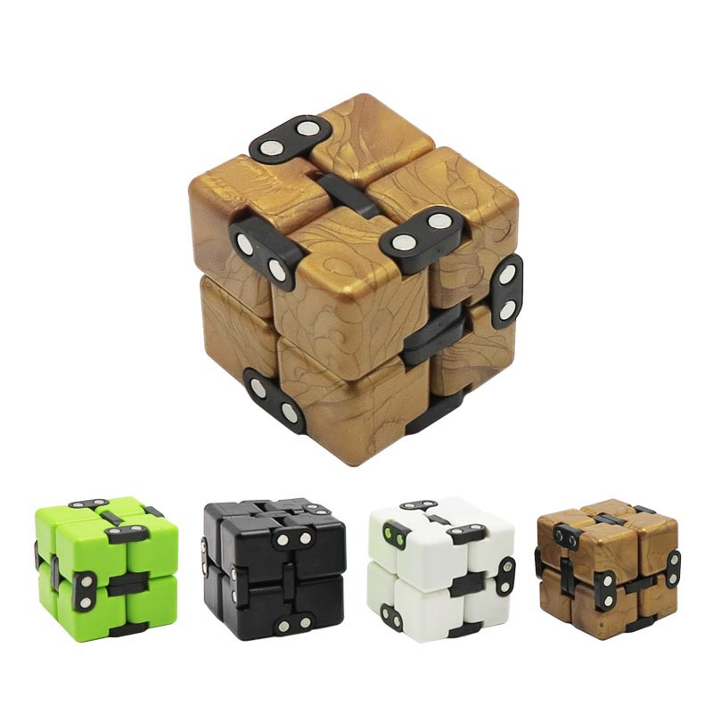Infinite Magic Cube Creative Square Finger Fidget cube Office flip Cubic Puzzle anti stress reliever autismanxiety stress toys цена