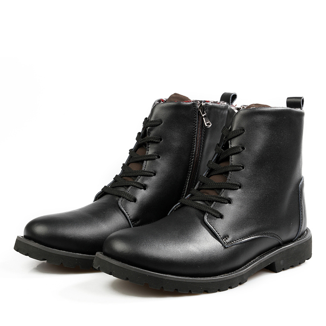 New Shop Promotion Mens Genuine Leather Motorcycle Ankle Autumn - Bootman us map