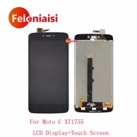 High Quality 5 0 For Motorola Moto C XT1755 XT1750 Full Lcd Display With Touch Screen