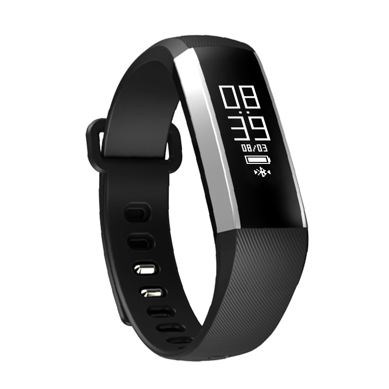 E09 Hear rate monition blood pressure smart bracelet Fitness Tracker and sleep moniter waterproof Smartband for
