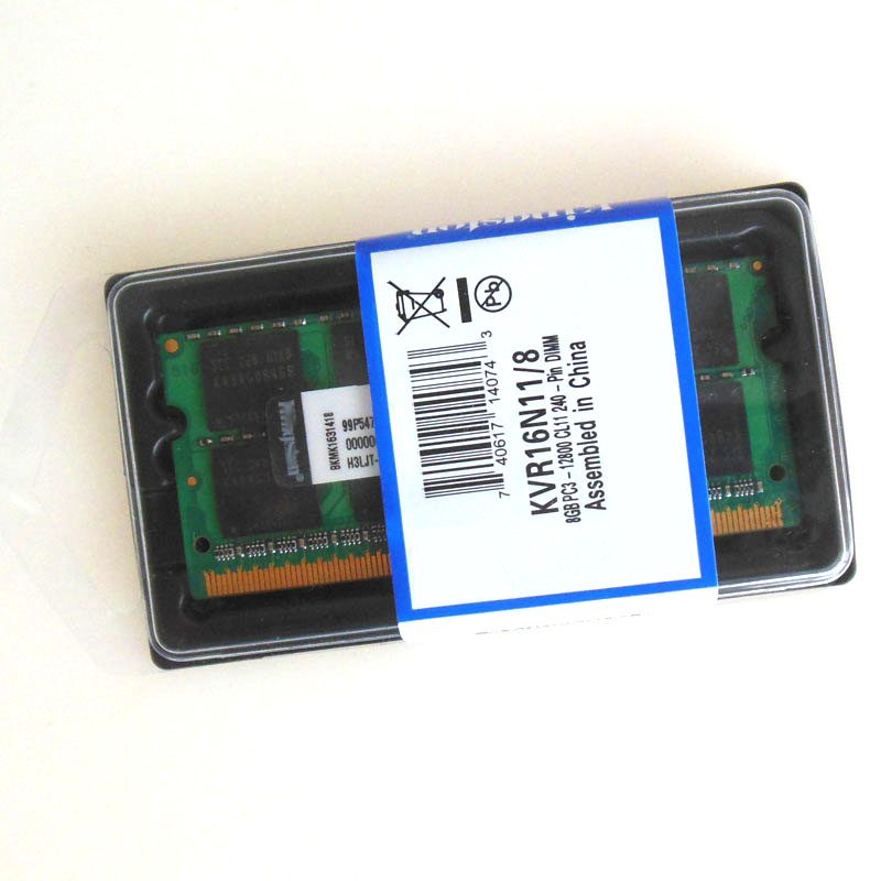 NEW 8GB DDR3 PC3-12800 1600mhz Sodimm 204-pin Notebook MEMORY CL11 Laptop Memory RAM 8G 1600MHZ low density Non-Ecc