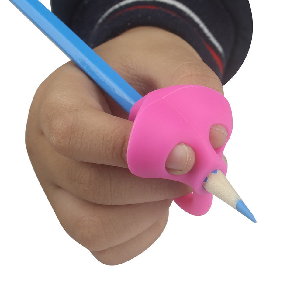 3PCS/Set Children Pencil Holder Pen Writing Aid Grip Posture Correction Tool New drop shipping
