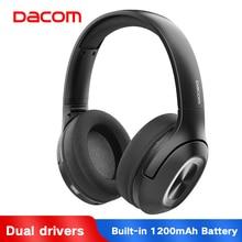 Get more info on the Dacom HF002 Over-Ear Bluetooth 5.0 Wireless Headphone Earphone 1200mAh Bluetooth Headphones HiFi Bass Head Phone For PC Phone