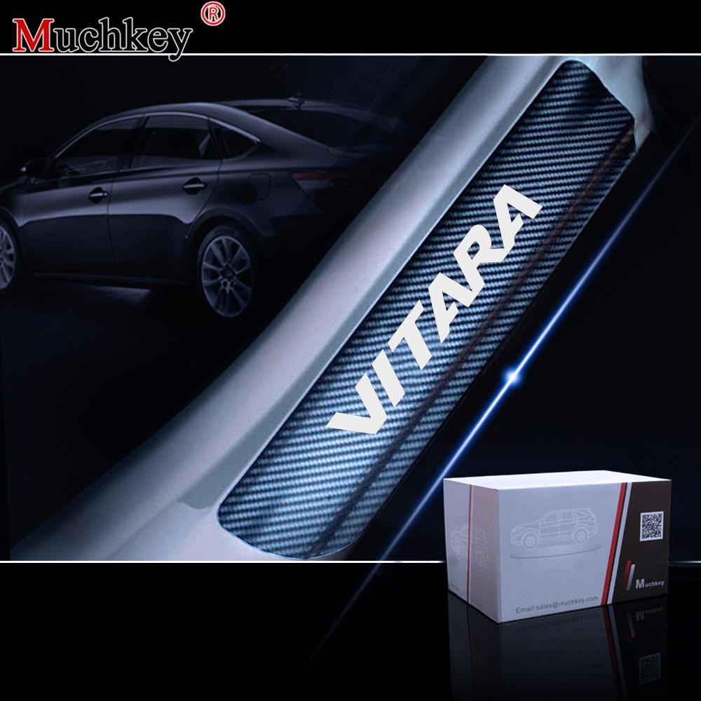 in ABS cromato 2 pezzi Copertura decorativa per fanale posteriore del freno per Vitara 2015-2018