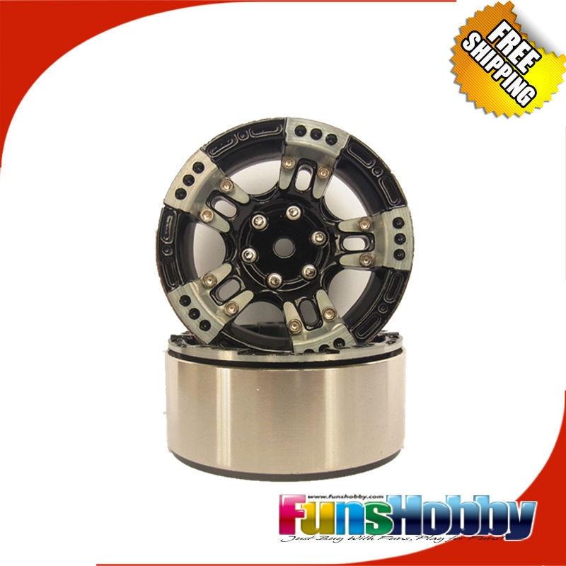 MHPC One Pair 1/10 RC Crawler CNC Aluminium 1.9